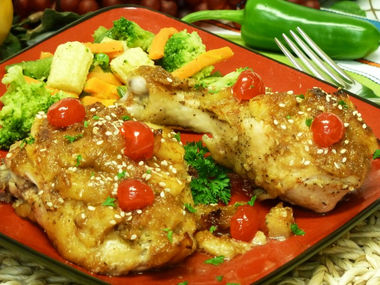 chicken recipe, pina colada, coconut, receipt