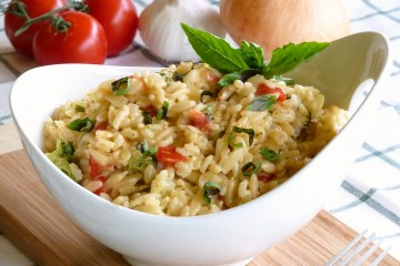 Creamy Orzo Rice Pilaf looks and tastes better than those box mixes loaded with preservatives.