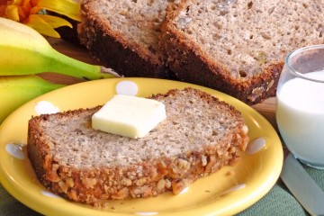 Sink your teeth into this delicious gluten-free banana bread.