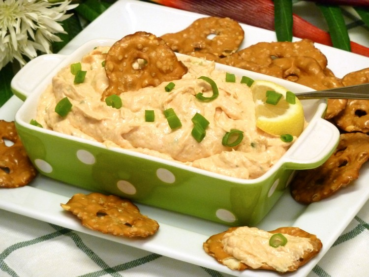 Less expensive smoked salmon dip is a hit at parties.