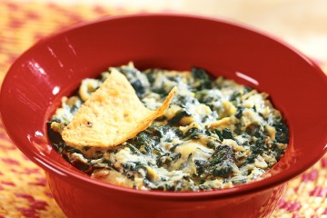 Make mouth-watering spinach artichoke dip in your crockpot.