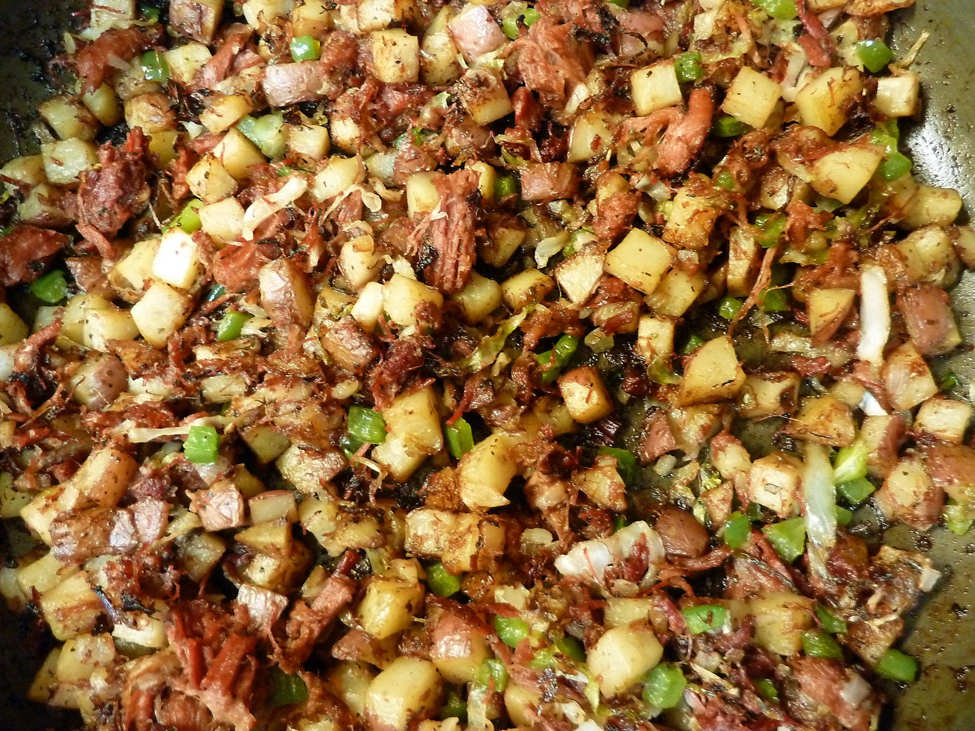 Irish corned beef hash is drool-worthy.