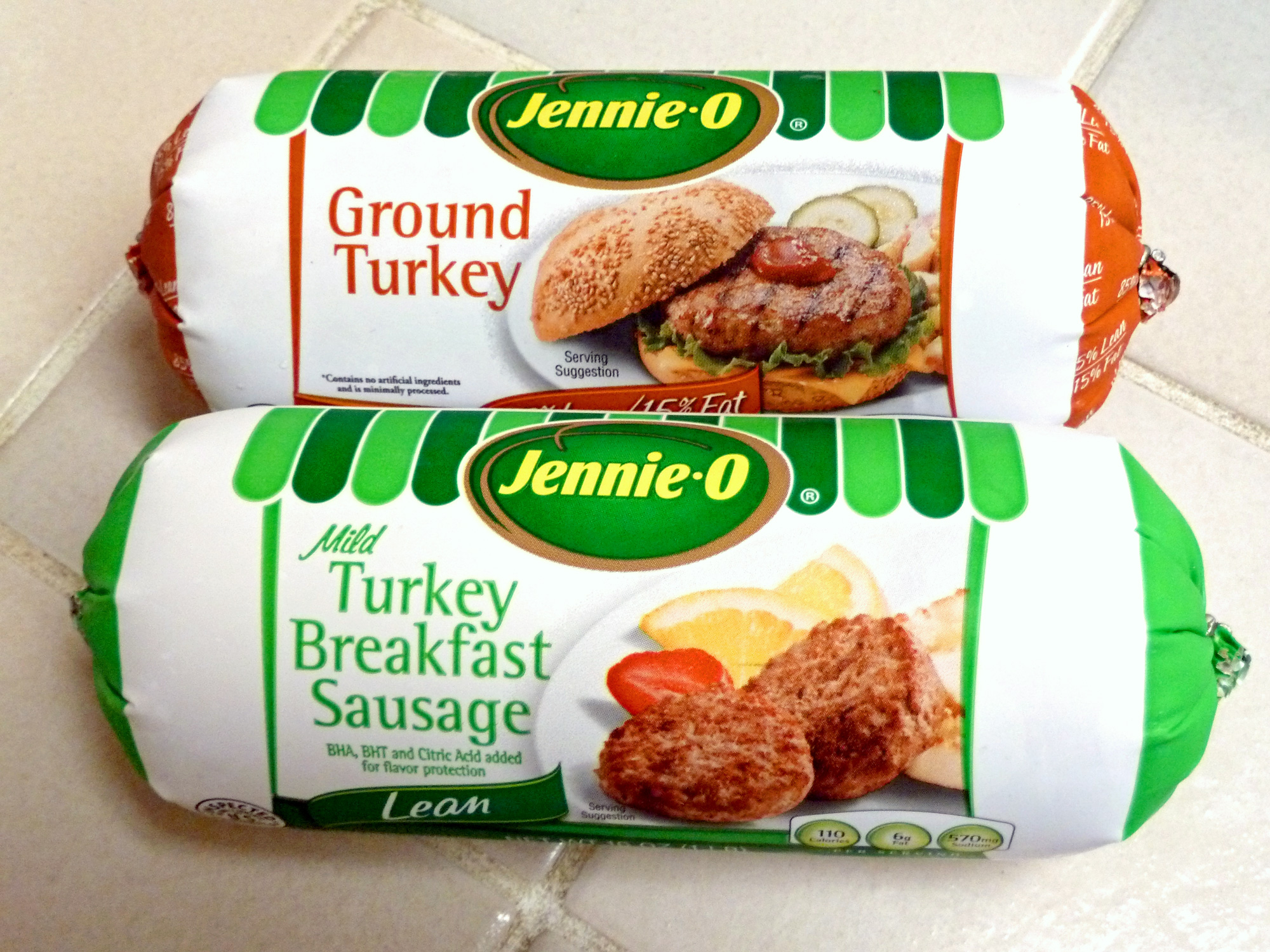Jenni-O® brand of ground turkey and turkey breakfast sausage