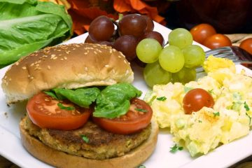 Flavorful tuna burgers are great on a bun or as a stand-alone entree.