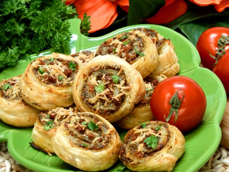 Garlic mushroom puffs are a gourmet appetizer that is amazingly simple to make.