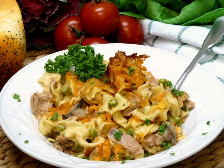 Cheesy Tuna Helper Copycat Recipe is better than the box.