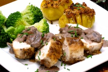 Merlot Mushroom Chicken takes about 30 minutes to make.