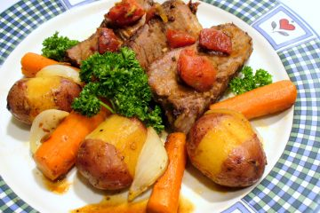 Enjoy smothered pot roast with vegetables just like Grandma used to make.