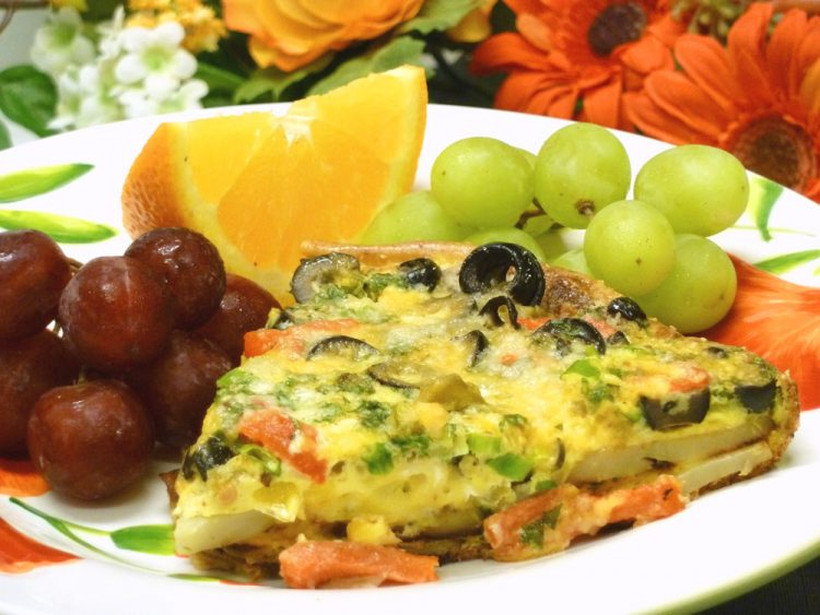 Southwest Potato Frittata combines all those Latin flavors you love into a frittata hearty enough for a main dish.