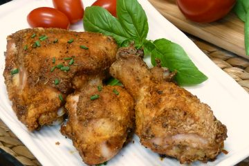 Gluten Free Crispy Chicken has all that famous take-out chicken flavor with zero gluten and no frying.
