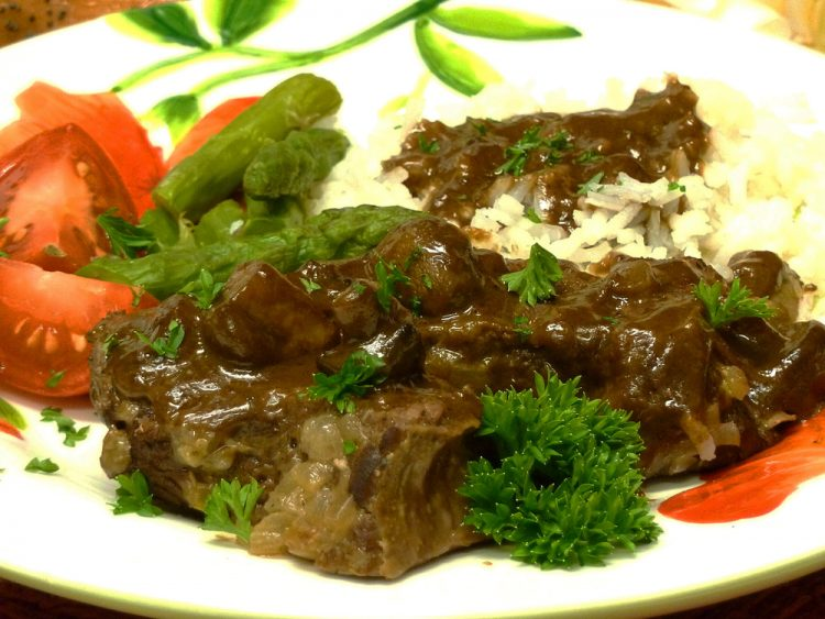 Mushroom pot roast has the easiest, most delicious gravy you've ever tasted!