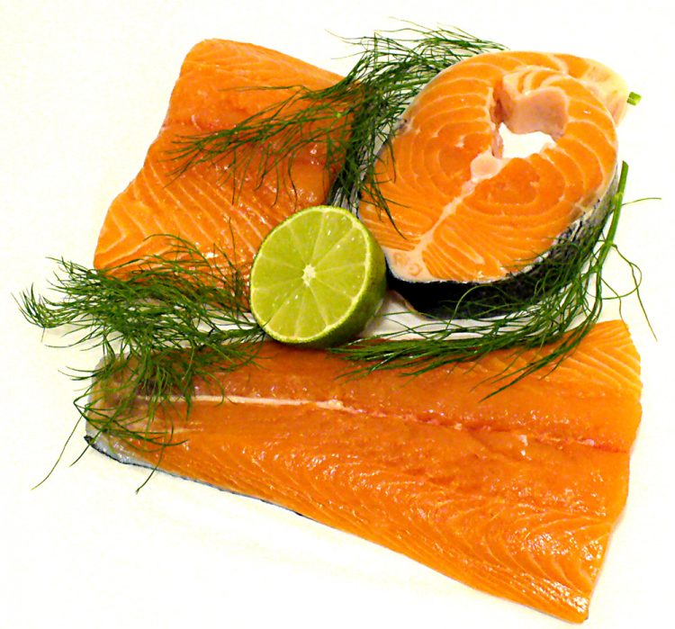 Diffe Cuts Of Raw Salmon Proper Storage And Worms In Are Concerns