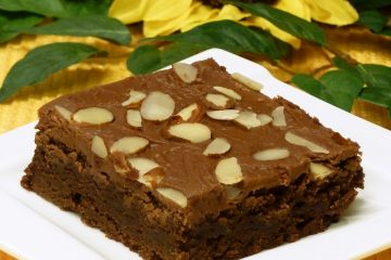 Luscious and fudgy Amaretto Brownies marry the decadent flavors of chocolate and almond-flavored amaretto liqueur.