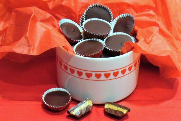 Luscious homemade peanut butter cups have a secret ingredient to make them truly irresistable.