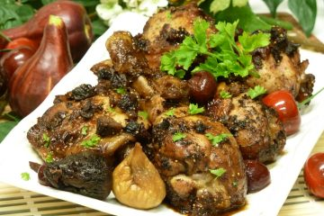 Wake up your boring chicken dinner with the fantastic flavor combination of Cherry Fig Chicken.