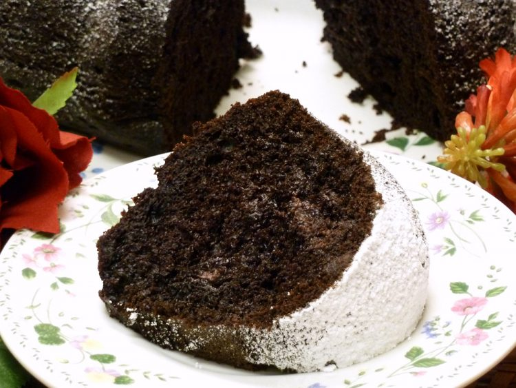 Triple Fudge Cake is rich and decadent. Feed your chocolate addiction.