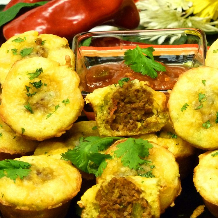 Spicy Loco Taco Meatball Poppers will be the hit of your party.