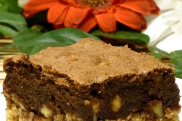 Just as it sounds, Oatmeal Cookie Brownies have a layer of oatmeal cookies topped with luscious brownies. Yum!