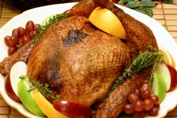 Golden brown, juicy boneless stuffed turkey makes Thanksgiving carving a breeze.