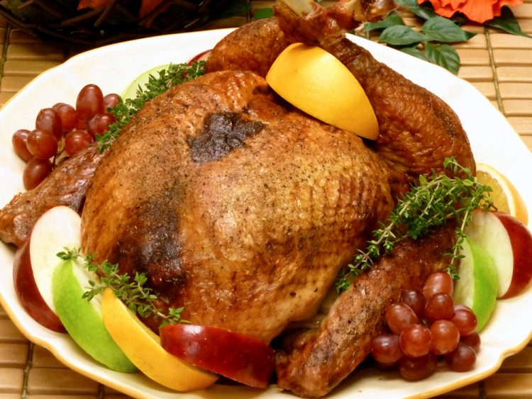 Golden brown, juicy boneless stuffed turkey makes Thanksgiving carving a breeze.