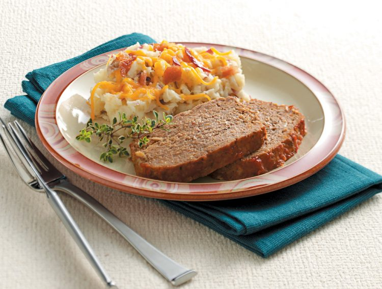 Chili Sauce Meat Loaf is a healthier, yet still tasty, version of the comfort food classic.