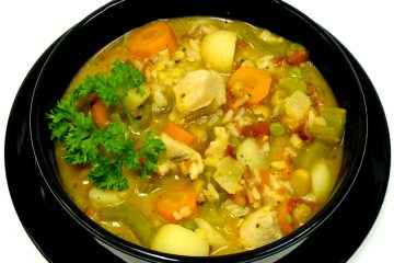 Chicken Mulligan Stew uses up leftovers and pantry items for a heartwarming meal in a bowl.