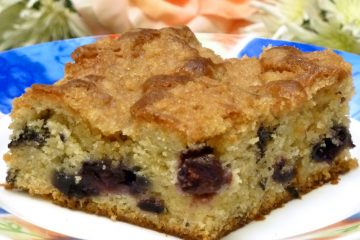 White Chocolate Blueberry Buckle Cake may well be the best coffee cake you've ever had.