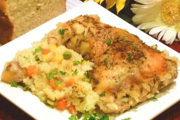 One-dish fennel chicken and rice gets a surprising taste boost from fennel seed.