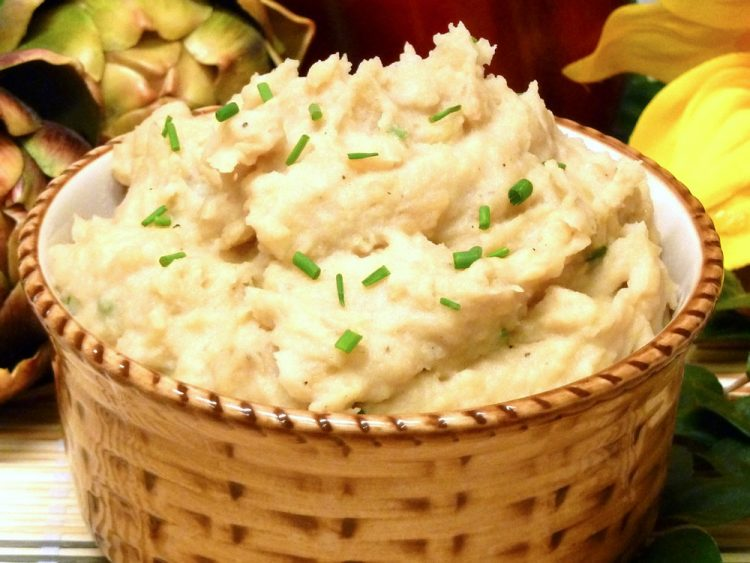 French onion mashed potatoes add a new dimension to that boring side dish.