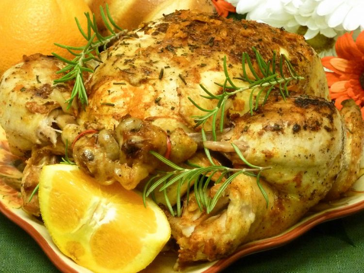 Tender, juicy Orange Rosemary Chicken is elegant yet simple to make.