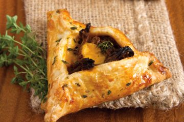 Make leftovers yummy again in these Cheddar Pot Roast Hand Pies.