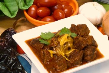 Chile colorado is tender, juicy beef with a fabulous, easy red chile sauce. Yum!