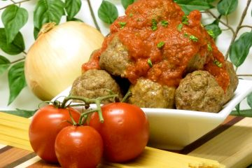Tender, juicy Processor Italian Meatballs start with a chuck roast for maximum flavor.
