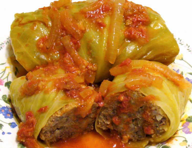 Tender, juicy stuffed cabbage rolls are a comfort food classic.