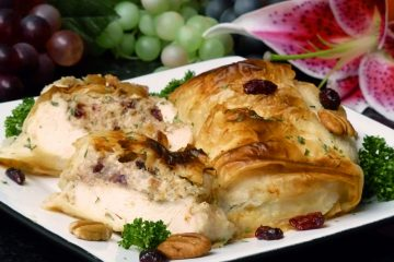 Almost too pretty to eat, easy Cranberry Pecan Stuffed Chicken will make you look like a gourmet cook.
