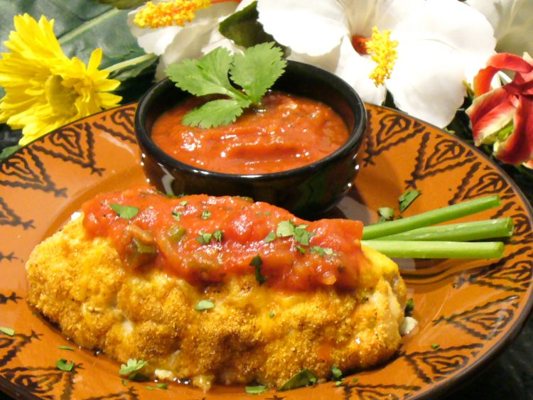 Mexican Stuffed Chicken Breasts Recipe