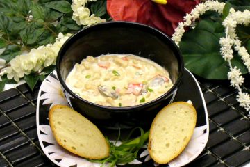 Seafood Pasta Chowder Recipe