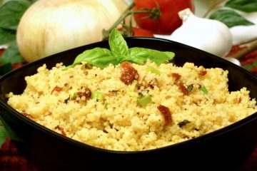 Sun-Dried Tomato Basil Couscous Recipe