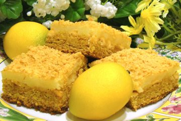 Lemon Butter Chews have a scrumptious layer of cheesecake. Easy bar cookie starts with a cake mix.