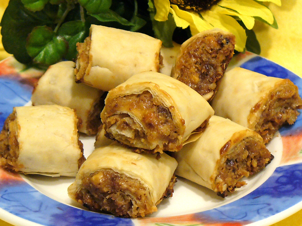 Cinnamon Raisin Nut Rolls are buttery, crunchy, and filled with sweet goodness. These go fast, so make a double batch.