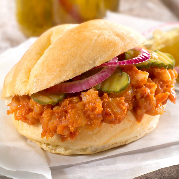 Pulled Barbecue Shrimp Sandwiches are sure to wake up your tastebuds.