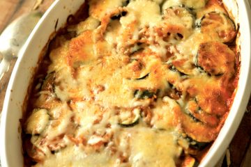 Zucchini Casserole has Italian flavors and loads of cheese, just like Grandma used to make.