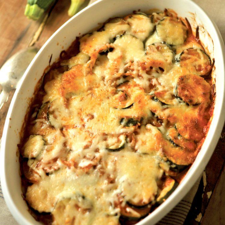 Zucchini Casserole has Italian flavors and loads of cheese, just like Grandma used to make.