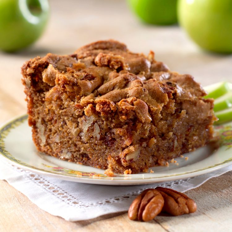 Apple Pecan Squares are moist and delicious, perfect dessert for a crowd.