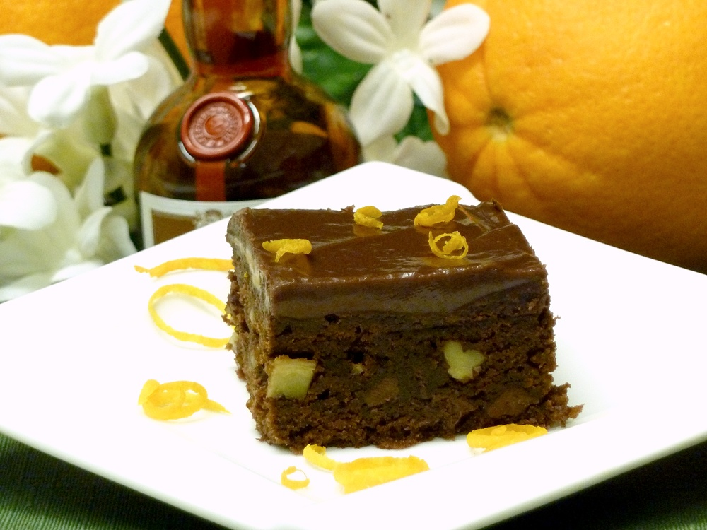 Brownies brings a favorite liqueur to dessert. Nothing short of yummy!