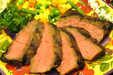 Teriyaki Skirt Steak is a tender, delicious change from fajitas.