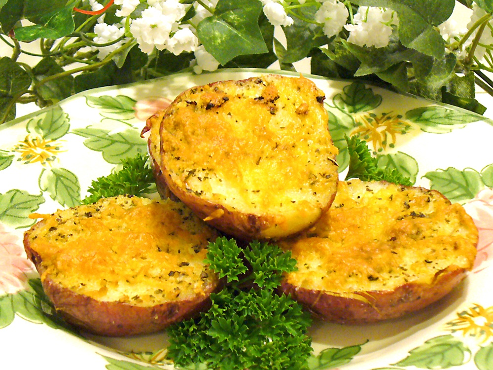 Herb Roasted Potatoes are incredibly easy and a big hit with kids and the entire family.