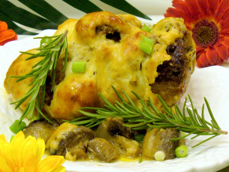 Swiss Mushroom Chicken combines chicken with Swiss cheese and mushrooms in a fabulous sour cream wine sauce.