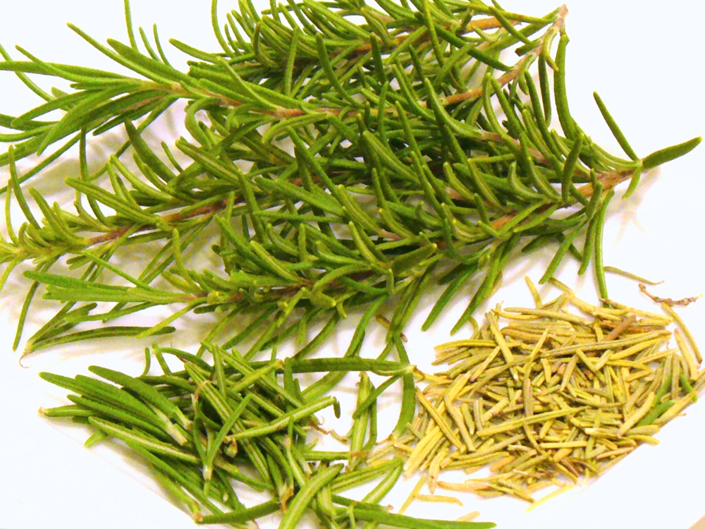 Cooking with rosemary raises your recipes to new levels. Fresh rosemary is the best, but dried also works well.