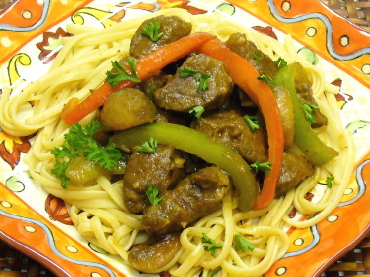 Lamb Cacciatore is the king of what some call Italian peasant food. Yummy!